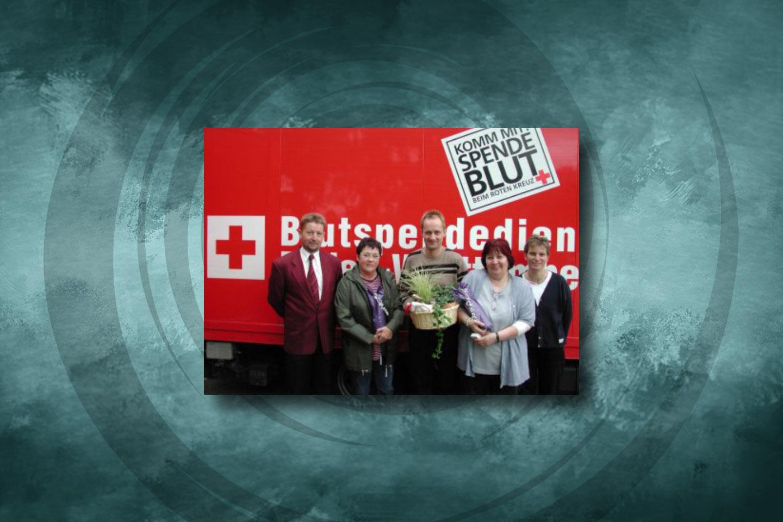 4.000. Blutspender in Leutesheim