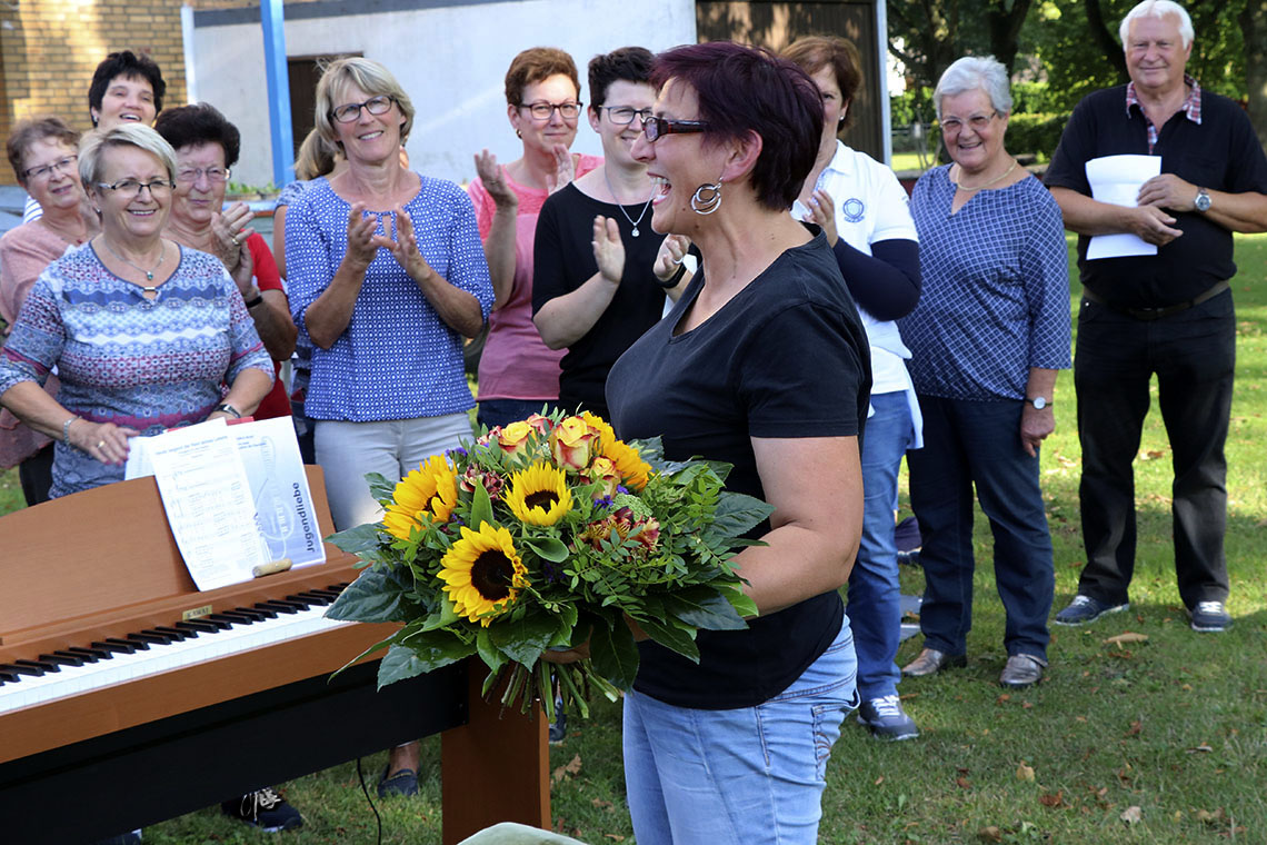 Geselliges Sommerfest der »Litzmer« Sänger