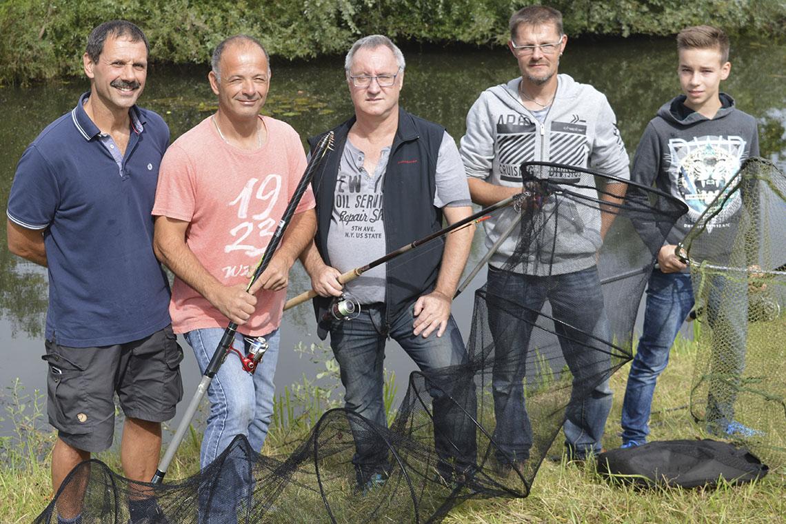 Read more about the article Viel Spektakel beim »Litzmer« Angler-Jubiläumsfest