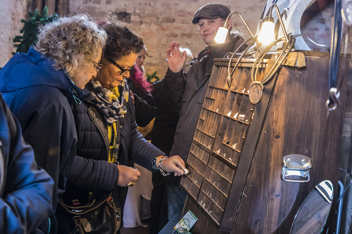 »Litzmer« Adventmarkt im Löwen-Hof begeistert