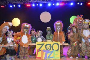 Wilde Tiere bei der »Litzmer« Kinderfasnacht
