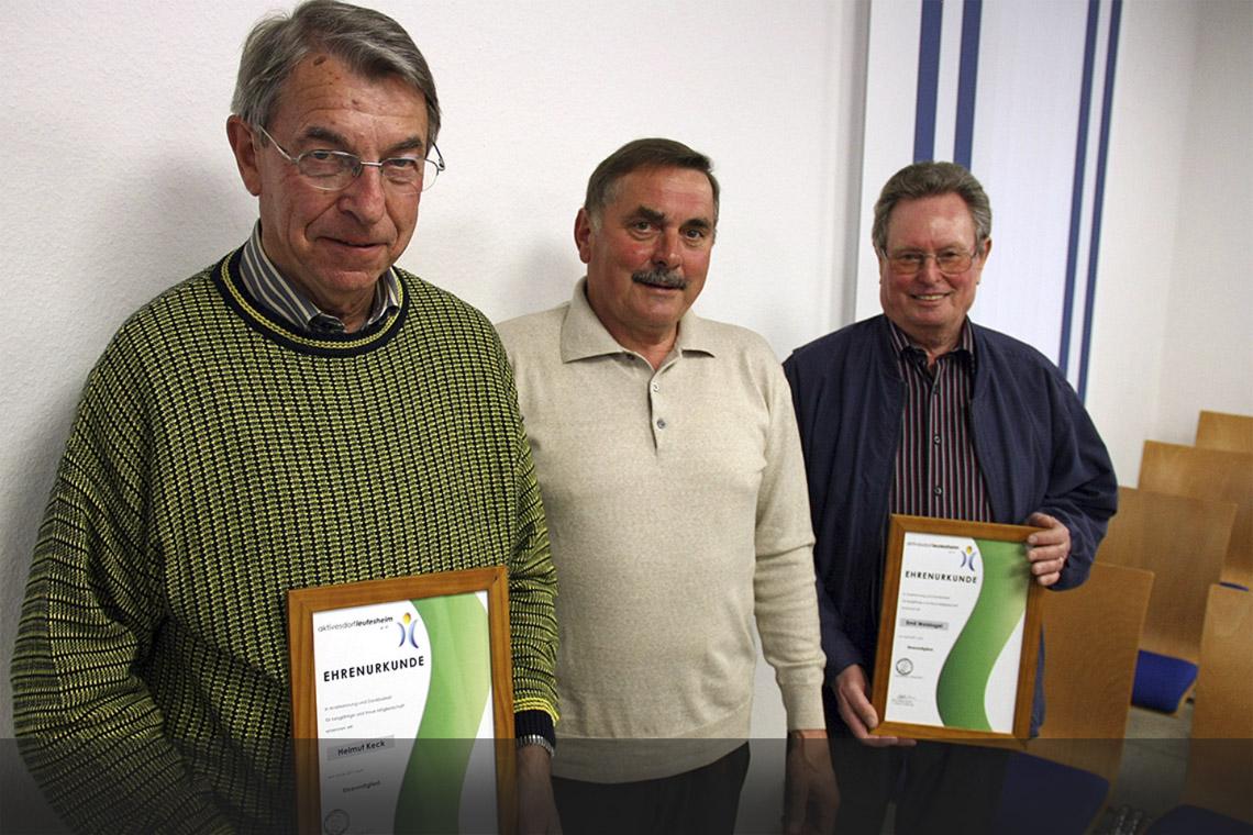 Eine Ehre für das »Aktiven Dorf« – Hauptversammlung zeigt vorbildliche Vereinsarbeit