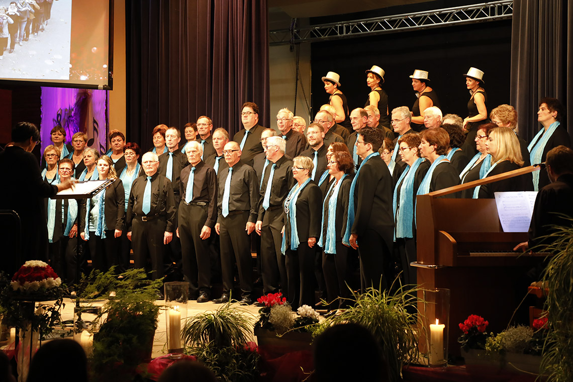 Sängerbund-Jubiläum: »Litzmer« Chor feiert 15 Jahre »Nelli«