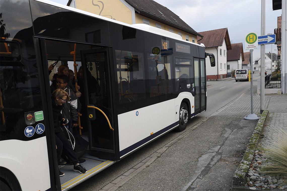 Morgendliches Bus-Chaos entspannt