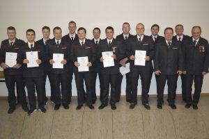 Feuerwehr-Versammlung: Georg Karch geht in die fünfte Amtsperiode