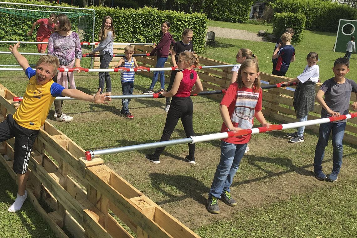 Viele Gewinner beim Schulfest in Leutesheim