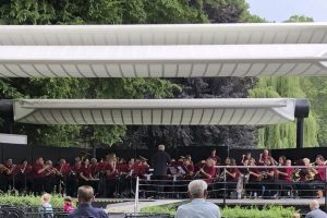 Read more about the article »Harmonie« Leutesheim musiziert im Karlsruher Zoo