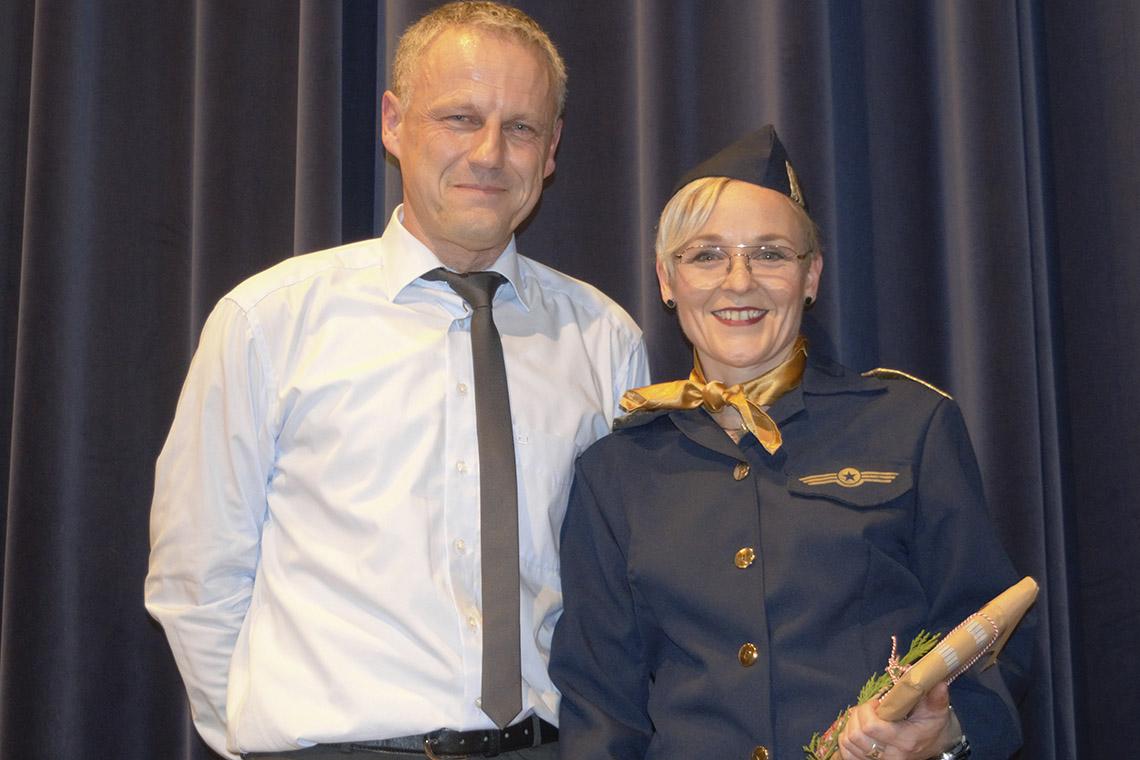 Turn-Trainerin Birgit Heidt beim SVL verabschiedet
