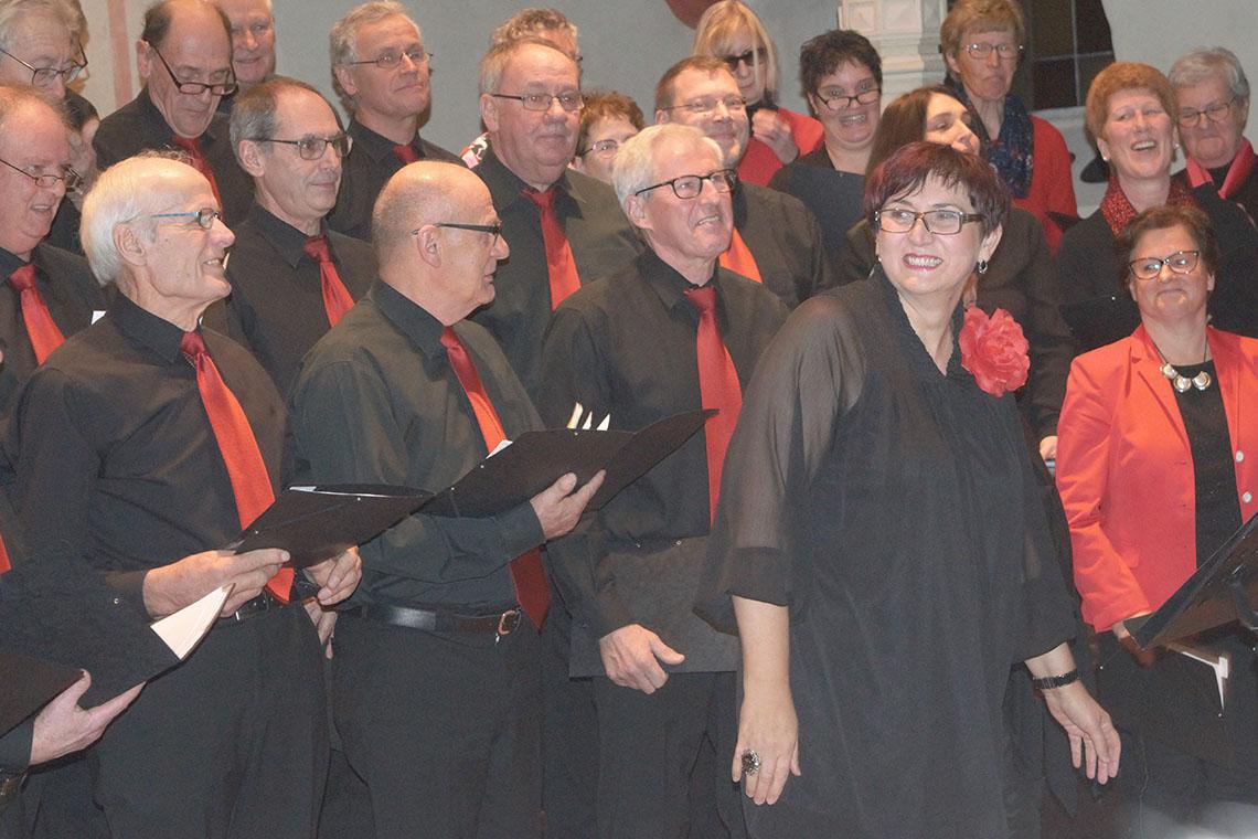 Nelli Weinberger auf Adventskonzert verabschiedet